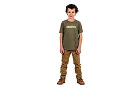 T-SHIRT CORPORATE MILITARY GREEN KIDS 2018