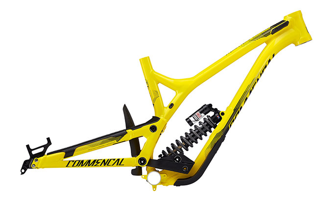 VIP SUPREME DH V4.2 650B YELLOW 2017