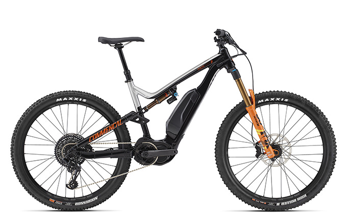 META POWER RACE 650B+ FOX GREY/BLACK/ORANGE