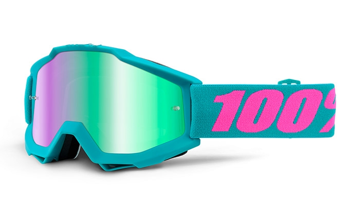MASQUE 100% ACCURI PASSION MIRROR GREEN LENS