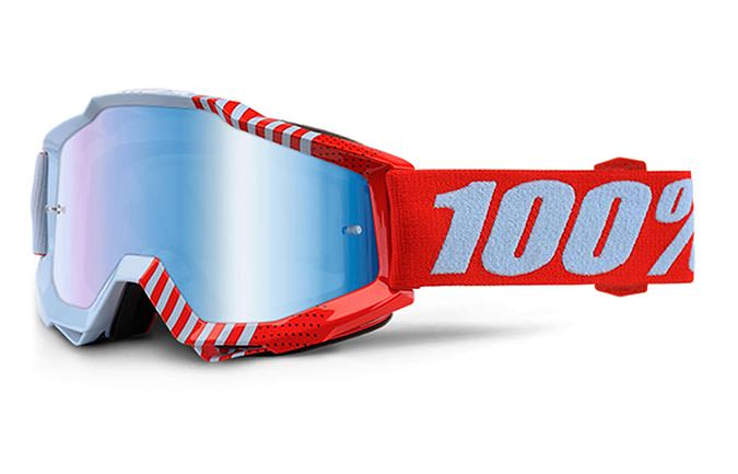 MASQUE 100% ACCURI CUPCOY MIRROR BLUE LENS