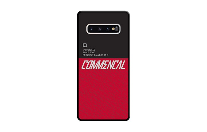 COQUE COMMENCAL SAMSUNG GALAXY S10 RED 2019