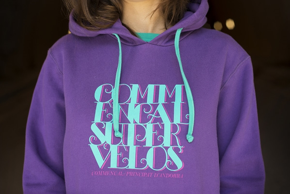 HOODIE GIRLY PURPLE