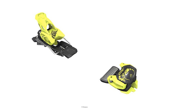 FIXATIONS TYROLIA ATTACK² 11 GW YELLOW + BRAKES TYROLIA FOR ATTACK² 1