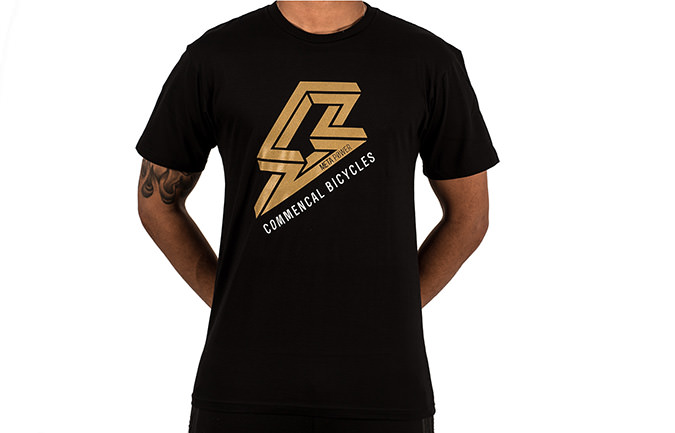 T-SHIRT POWER BLACK