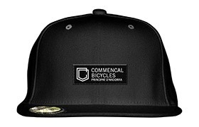 CASQUETTE COMMENCAL VISIERE PLATE SHIELD BLACK