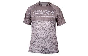 MAILLOT MANCHES COURTES COMMENCAL GREY
