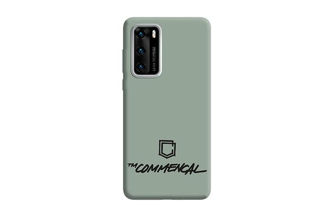 COQUE COMMENCAL HUAWEI P40 HERITAGE GREEN