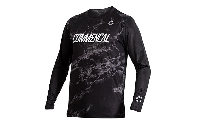 MAILLOT MANCHES LONGUES COMMENCAL BLACK 2020