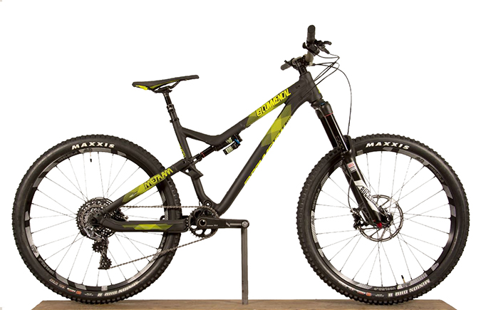 META AM V4 WORLD CUP 650B BLACK ANODIZED 2016 (M)