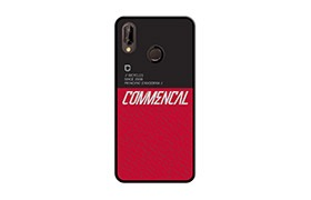 COQUE COMMENCAL HUAWEI P20 LITE RED