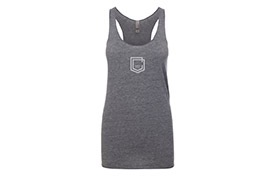 TANK TOP COMMENCAL GIRL SHIELD ASH HEATHER 2019