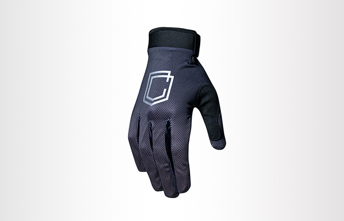 GANTS KIDS COMMENCAL BLACK VELCRO