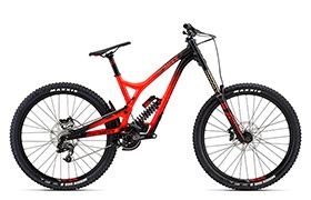 SUPREME DH V4 ESSENTIAL ROCKSHOX 650B RED 2016