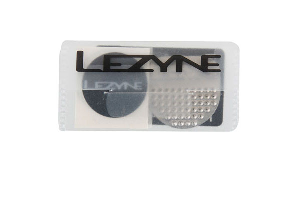 LEZYNE KIT DE REPARATION - 6 RUSTINES/1 PATCH PNEUS/1 RAPE EN ALU/H-C