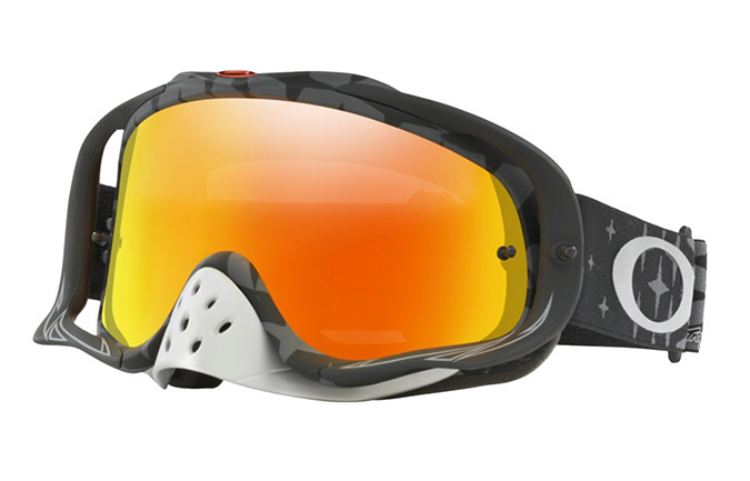 MASQUE OAKLEY CROWBAR TLD MEGABURST BLACK/FIRE IRIDIUM OAKLEY