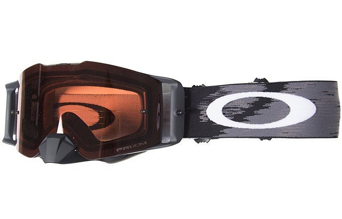 MASQUE OAKLEY FRONT LINE MATTE BLACK SPEED VERRES PRIZM MX BRONZE