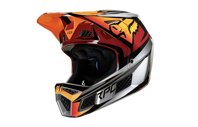 CASQUE FOX RAMPAGE PRO CARBON ICED 2019