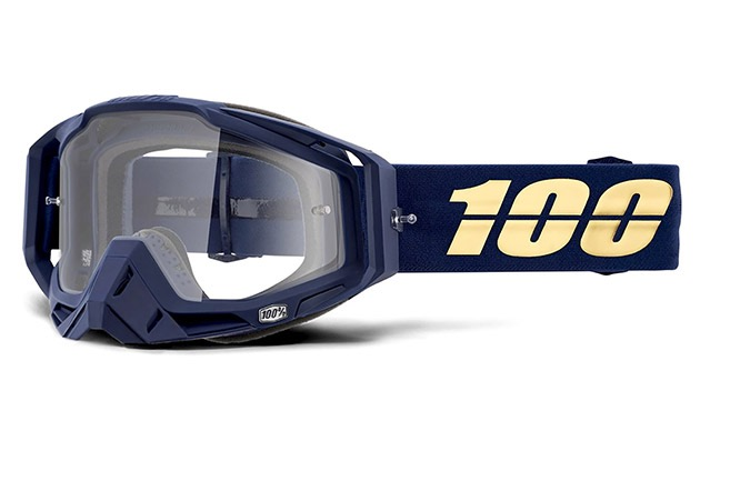MASQUE 100% RACECRAFT BAKKEN - CLEAR LENS